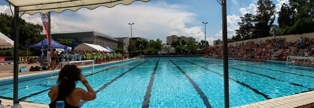 Nos champions acad miques de natation en route pour le for Piscine echirolles